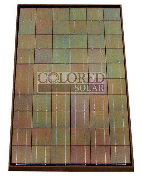 brown solar panel